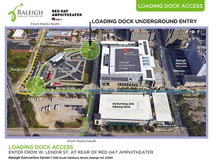 Loading Dock Map